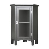Madison Avenue Dark Corner Floor Cabinet