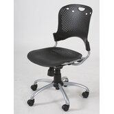 Circulation Mid-Back Task Chair with Arms