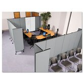 "GreatDivide 96"" x 64"" Two Panel Partition"