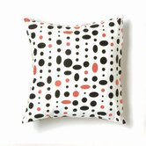 Cosmic Small Pillow in Black, Pink and White