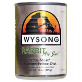Au Jus™  Rabbit  Canned Diet Wet Dog / Cat Food (13-oz, Case of 12)