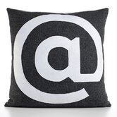 """@"" Decorative Pillow"