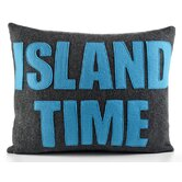 """Island Time"" Decorative Pillow"