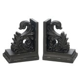 Scroll Library Bookends