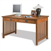 "Craftsman Home Office 58"" W Computer Library Desk"