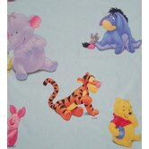 Pooh Quiet Lined Single Curtain