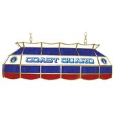 U.S. Coast Gaurd Stained Glass Pool Table Light