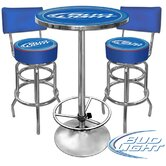 Bud Light Pub Table Set