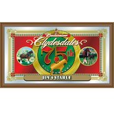 Budweiser Clydesdales 75th Anniversary Mirror - Jim's Stable