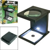 Foldable Magnifier with 3 LED Lights