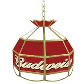 Budweiser 16&quot; Tiffany Light Fixture
