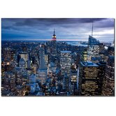 New York Ctiy, NY by Yakov Agani Canvas Art