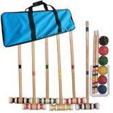 Complete Combo Croquet Game Set