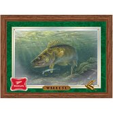 Miller High Life Walleye Reflective Wall Mirror
