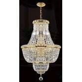 Empire 12 Light Chandelier