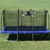 15 Ft. Rectanglular Trampoline with Safety Enclosure