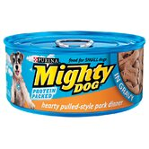 Hearty Pulled-Style Pork Dinner Wet Dog Food in Gravy (5.5-oz, case of 24)