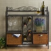 Scout Scrolled Bistro Wine Rack