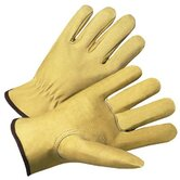 4000 Series Pigskin Leather Driver Gloves - 7007xl premium pigskin drivers