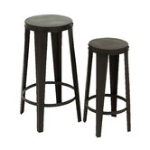 2 Piece Bar Stool Set