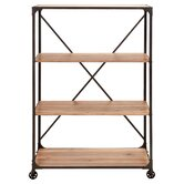 Woodland Imports Accent Wall Shelving
