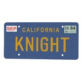 Knight Rider Knight License Plate Replica