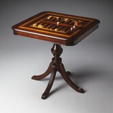 Plantation Game Table in Distressed Cherry