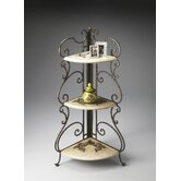 Metalworks Corner Etagere