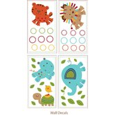 Animal Parade Wall Decals