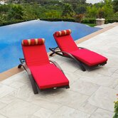 Cantina Arc Lounger with Cushion (Set of 2)