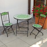 Verdi Royale Green Decorative 3 Piece Bistro Set