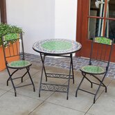 Monaco Pear Decorative 3 Piece Bistro Set