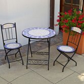 Villa Azul Decorative 3 Piece Bistro Set