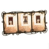 Tuscan Austin Triple Picture Frame