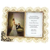 Romance June Floral with Gemstone Photo Frame