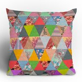 Bianca Green Lost in Pyramid Throw Pillow
