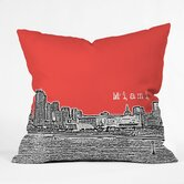 Bird Ave Polyester Miami Indoor/Outdoor Throw Pillow