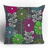 Khristian A Howell Cape Town Blooms Throw Pillow