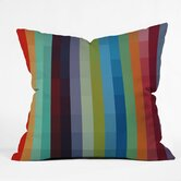 Madart Inc  Polyester City Colors Indoor/Outdoor Throw Pillow