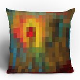 Madart Inc. Glorious Colors Throw Pillow