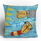 Robin Faye Gates Swimming Is Hard Throw Pillow
