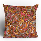 Valentina Ramos Spring Paisley Throw Pillow