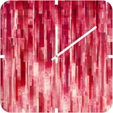Jacqueline Maldonado Red Rain Custom Clock