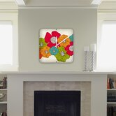 Valentina Ramos Flowers Custom Clock