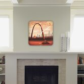 Anderson Design Group Saint Louis Custom Clock