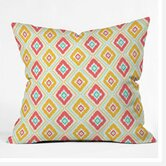 Jacqueline Maldonado Zig Zag Ikat Throw Pillow
