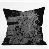 CityFabric Inc San Francisco Throw Pillow
