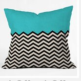 Bianca Green Throw Pillow