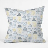 Jennifer Denty Polyester Clouds Indoor/Outdoor Throw Pillow