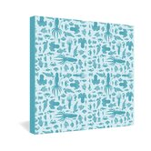 Jennifer Denty Sea Creatures Gallery Wrapped Canvas